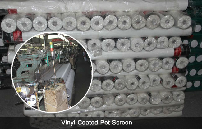 Vinyl Coated PET Screen